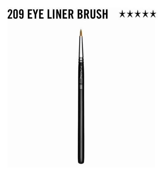 Brocha Para Ojos Mac N°209 - 15cm Eye Liner Brush Original