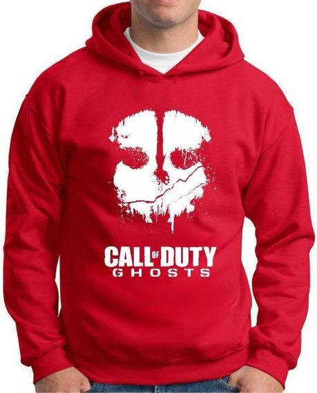 Moletom Call Of Duty Ghosts - Tamanhos Especiais Cores