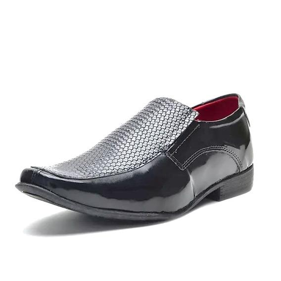 Sapato Eleganci Masculino Social Verniz Frete Livre 006722