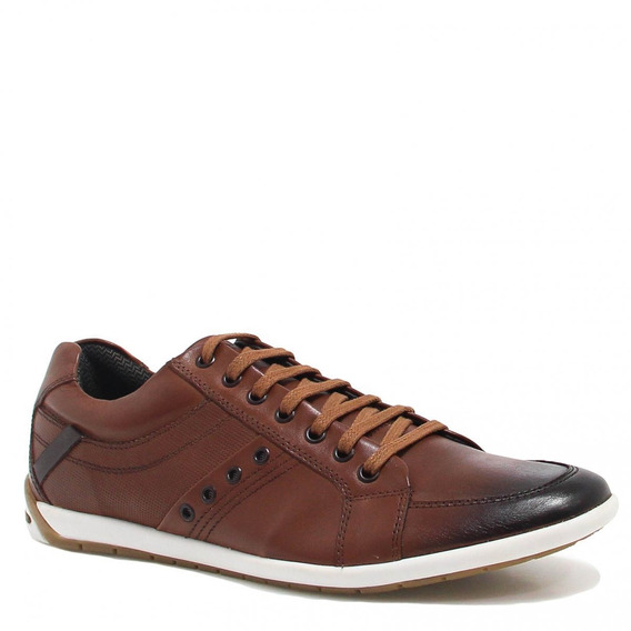 Sapatênis Zariff Shoes Casual Couro Er612