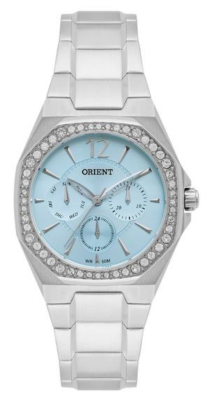Relógio Orient Feminino Fbssm031 A2sx Azul Analogico Off