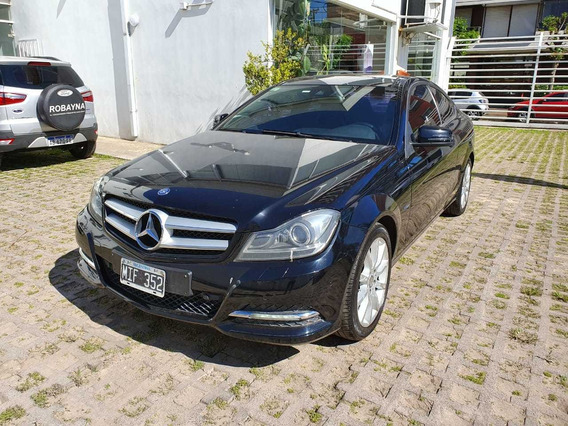 Mercedes Benz C250 Coupe Blue Effency