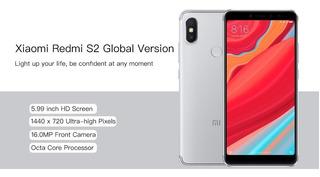 Celular Xiaomi Redmi S2 Dual 4g 32gb+capa+pelic Nota F 12x