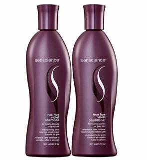 Senscience True Hue Violet Sh + Cond 300ml C/ Nf + Brinde