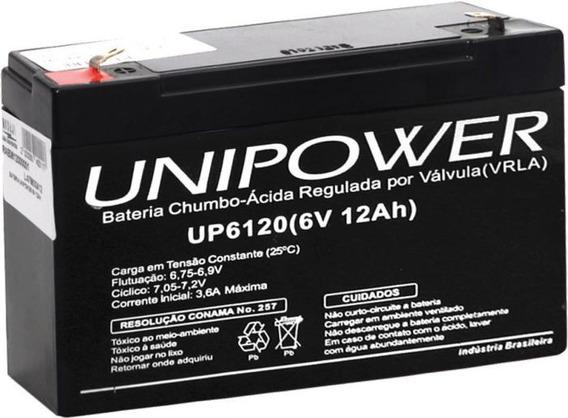 Bateria 6v 12ah Moto Elétrica, Brinquedo, Carrinho Elétrico