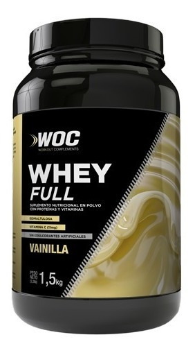 Gainer Full Complement Woc Vainilla 1.5kg - Sport Nutrition