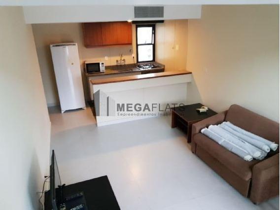 03039 - Flat 1 Dorm. (1 Suíte), Bela Vista - São Paulo/sp - 3039