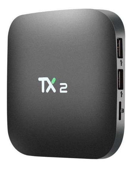Streaming media player Youit TX2 padrão 16GB preto com memória RAM de 2GB
