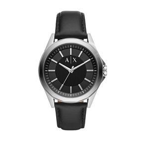 Relógio Masculino Armani Exchange Ax2621/0pn 42mm Couro