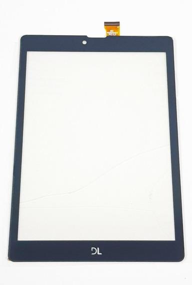 Tela Vidro Touch Tablet Dl Tab Facil Tx385 Tx 385 Lt741 Novo