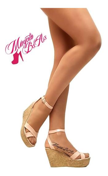 Zapatos Y Sandalias De Mujer Taco Medio Art 702 Mugato-bsas®