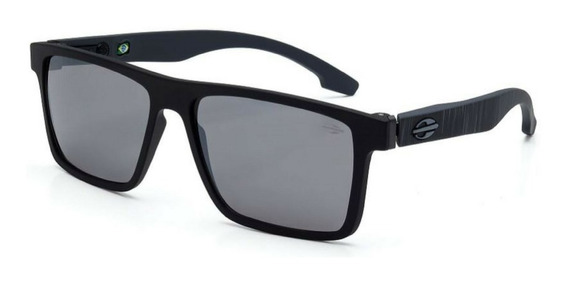 Oculos Solar Mormaii Banks M0050acl09 Preto Fosco Flash Prat