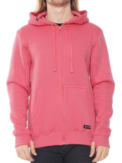 Moletom Element Neon Zip Up Rosa