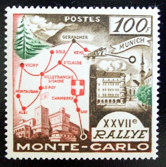 Mónaco, Deportes - Sello Yv. 491 100 Fr 27 Rally Mint L4517