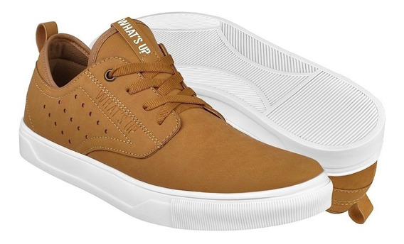 Tenis Casuales Para Caballero What´s Up 182000 Camel