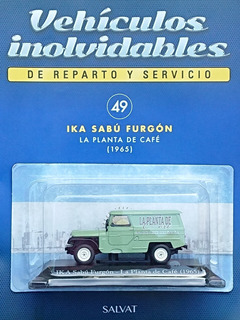 Coleccion Vehículos Inolvidables De Reparto Y Servicio