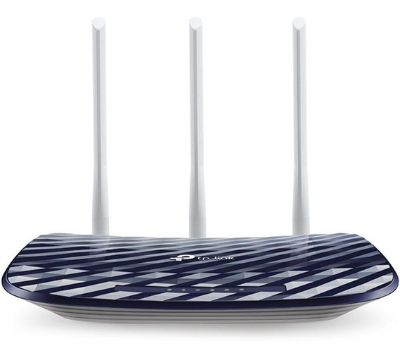 Roteador Wireless Tp-link Ac750 300mbps 3 Antenas