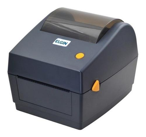 Imagem 1 de 2 de Impressora Térmica P/etiquetas Elgin L42dt 203dpi Usb/serial