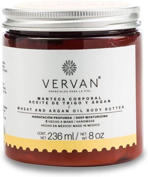 Vervan - Crema Corporal De Argán Y Aceite De Trigo 236 Ml