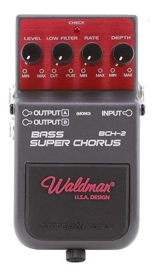 Pedal Bass Super Chorus Bch-2 Waldman