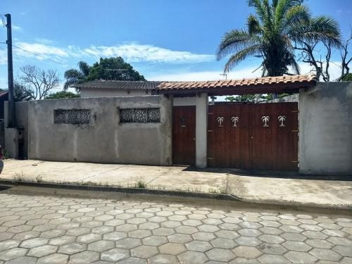 Casa Com 750 Metros Do Mar Em Itanhaém - 6468   Sanm