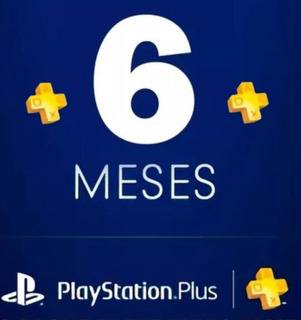 Playstation Plus 6 Meses Ps4 Ps3 Para Online, Inmediatamente