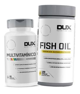 Kit Vitalidade - Omega 3 + Multivitamínico - Dux Nutrition