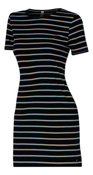 Vestido Ripzone Playa Koa Mujer Negro