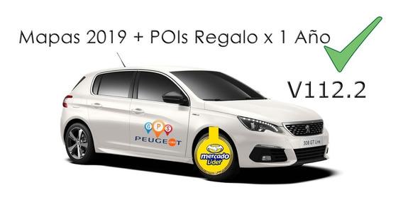 Actualizacion Gps Peugeot 208 308 408 508 Pois Trips