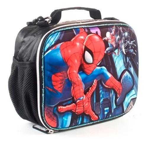 Lunchera Spiderman 3d Wabro