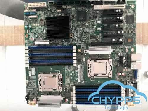 Placa Mae Intel S5520hc 2 Xeon E5620 + 16 Ram