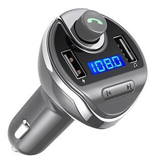 Transmisor De Fm De Criacr Bluetooth, Kit De Coche De Adapta