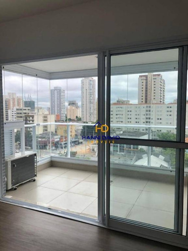 Lindo Studio À Venda, Mobiliado, Com Sacada, Na Vila Mariana, Próximo Ao Metrô Ana Rosa. - St0013