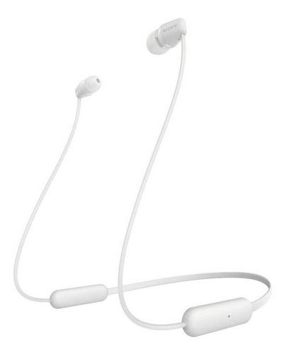 Auriculares In-ear inalámbricos Sony WI-C200 blanco