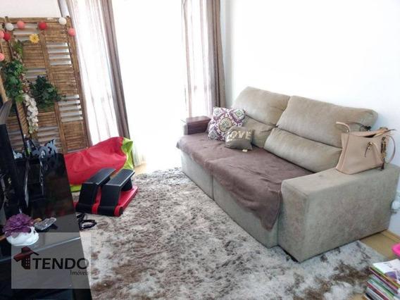 Apartamento 70 M2 - 2 Dormitórios - 1 Suíte - Independência - São Bernardo Do Campo. - Ap0179