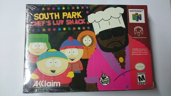 South Park Chefs Luv Shack Nintendo 64 Lacrado Americano