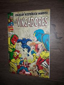 Hq Coleção Histórica Marvel Os Vingadores Volume 8