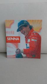 Livro Ayrton Senna Para Sempre Shell Impecável Automobilismo