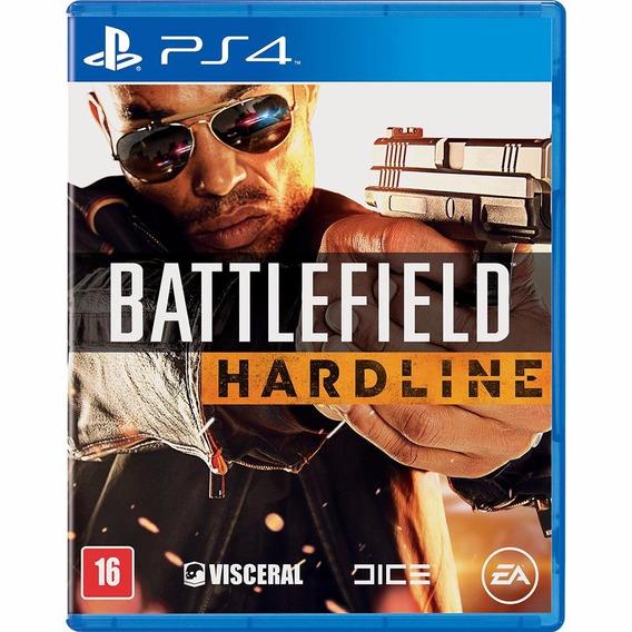 Battlefield Hardline Ps4 2ª Digital Psn