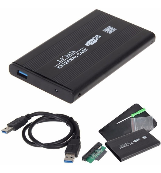 Case Hd Externo Usb 3.0 2.5 Hd Notebook Sata Pc Xbox Ps3