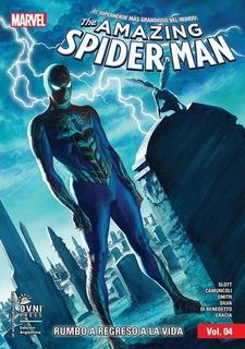 Comic Amazing Spiderman Tomo # 04 Rumbo A Regreso A La Vida