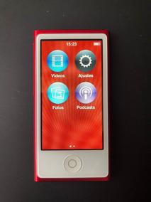 iPod Nano 7ª Geração Vermelho + Acessorios