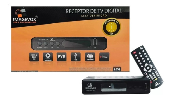 Conversor E Gravador Digital Tv Full Hd Usb Imagevox Novo