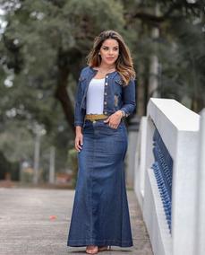 Conjunto Jeans Longo Joyaly
