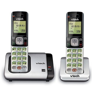 2 Telefonos Inalambricos Identificador Llamada Vtech