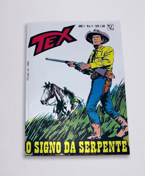 Tex N° 1 Primeira Edição Editora Vecchi - 1971 - Facsimile