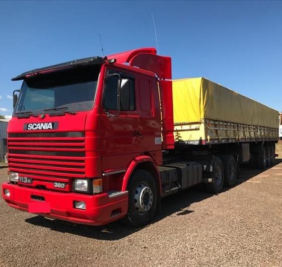 Scania 113 360 Carreta Graneleira 1998