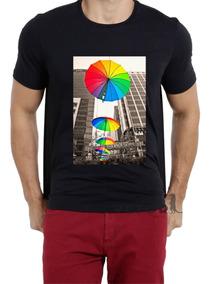 Camisa Camiseta Alg Masculino Lgbt Gay Homofobia Pride Luta