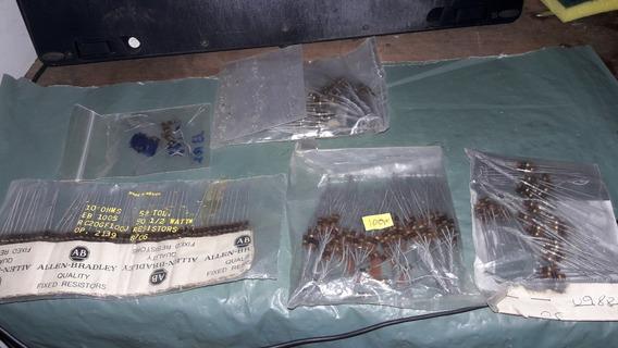 Resistores Variados Lote Da Foto (2481)
