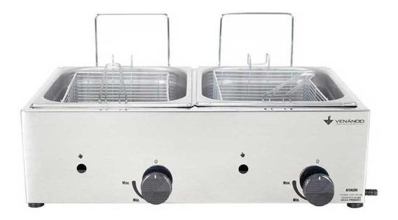 Fritadeira industrial Venâncio SFG212 prata